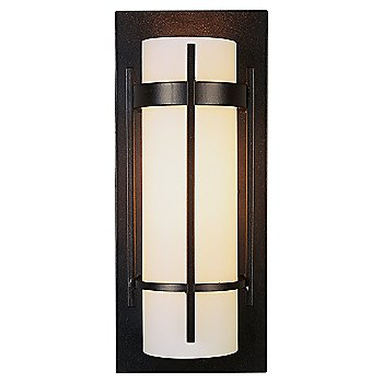 Shown in Opal Glass color, Mahogany finish