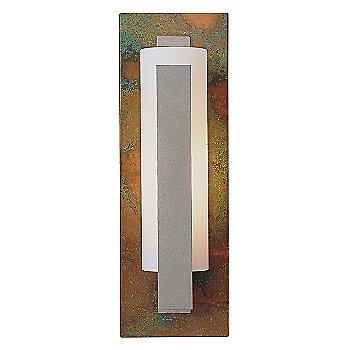 Opal glass / Sierra Patina Copper finish / Burnished Steel finish