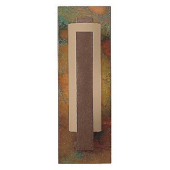 Stone glass / Sierra Patina Copper back finish / Mahogany finish