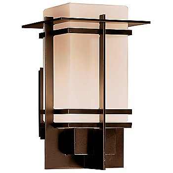 Opaque Bronze finish with Opal shade / Large size