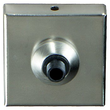 Shown in Satin Nickel finish and 2