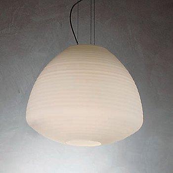 Shown in White Satin glass