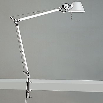 White finish / Table Clamp