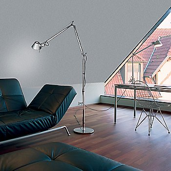 Tolomeo Classic Floor Lamp / in use