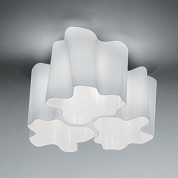 Logico Micro Triple Nested Semi-Flushmount Light