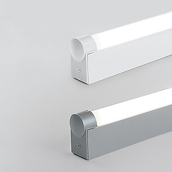 Aluminum / White finish