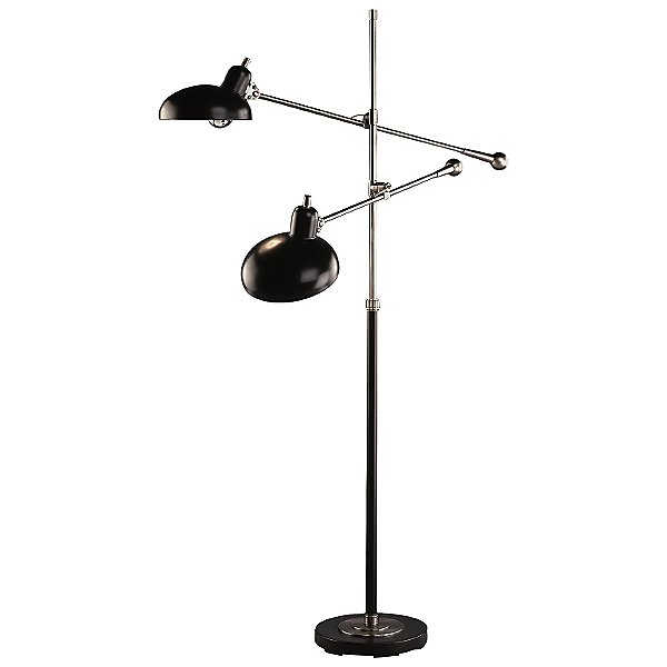 Robert Abbey Bruno Adjustable Double Arm Pharmacy Floor Lamp Ylighting Com