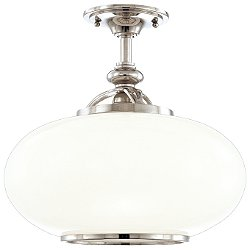 Canton Semi-Flush Mount Ceiling Light