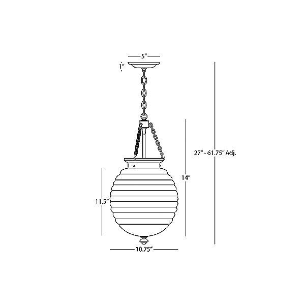 Beehive Pendant Light