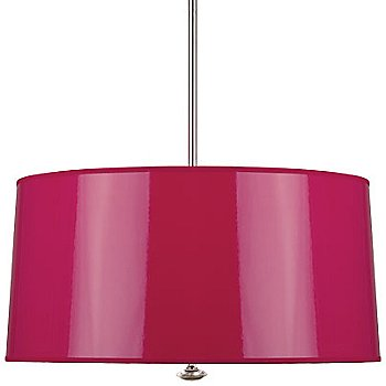 Shown in Fuchsia Ceramik Parchment with Mylar Lining shade