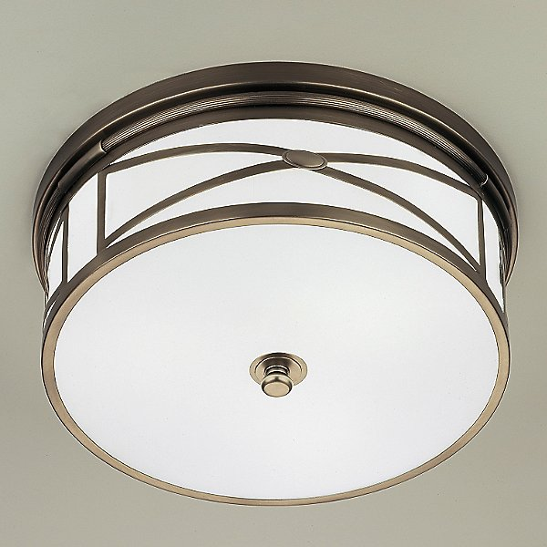 Robert Abbey Chase Flush Mount Ceiling Light Ylighting Com