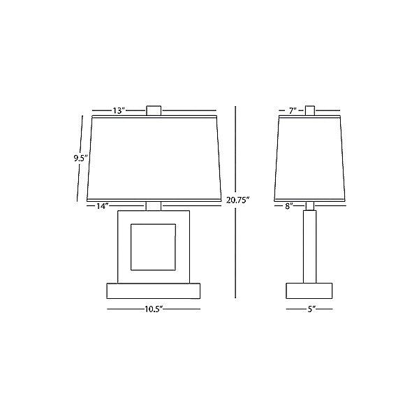 Doughnut Duncan Table Lamp