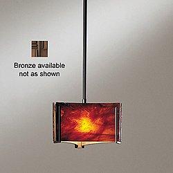 Exos Delta Mini Pendant Light (Topaz/Bronze/Short)- OPEN BOX