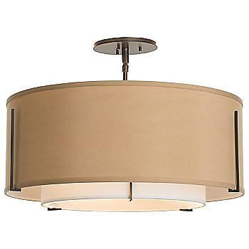 Shown in Doeskin Shade color, Bronze finish