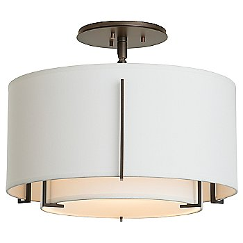 Shown in Natural Anna Outer Shade color, Bronze finish
