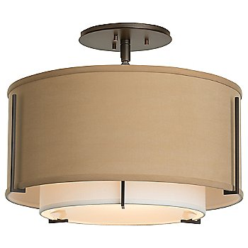 Shown in Doeskin Outer Shade color, Bronze finish