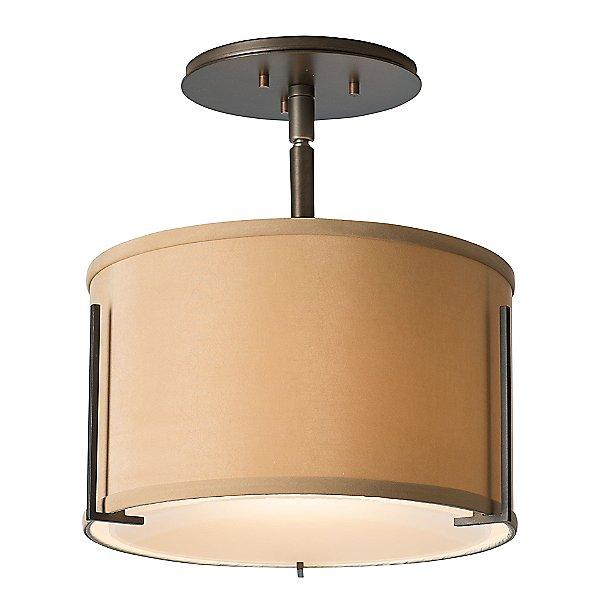 Exos Single Shade Semi-Flush Mount Ceiling Light