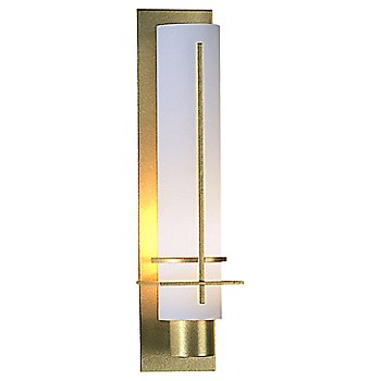 Gold finish, Opal Glass color