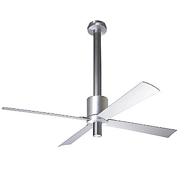 Shown in Aluminum and Anthracite finish with Aluminum blades, Spotlight