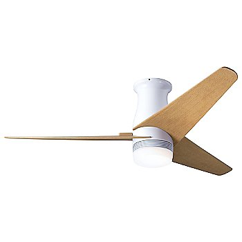 Gloss White finish / Maple Blades / LED option