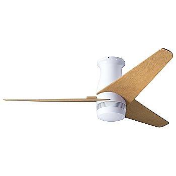 Gloss White finish / Maple Blades / No Light Option