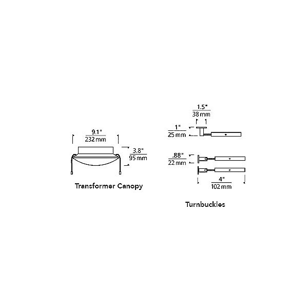 Kable Lite 300W Magnetic Surface Mount Transformer Kit