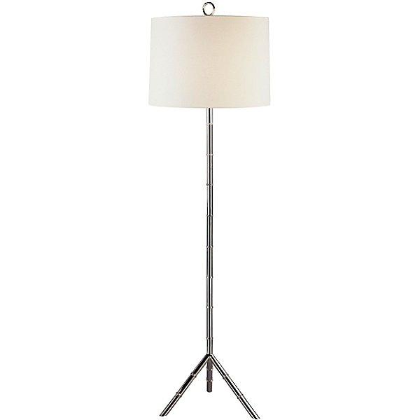 Meurice Polished Nickel Floor Lamp