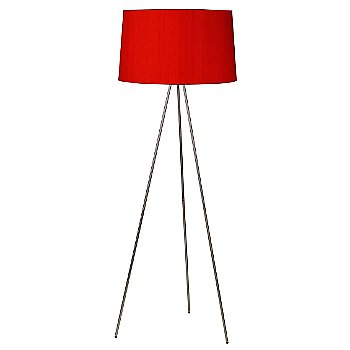 Shown in Red Dupioni shade