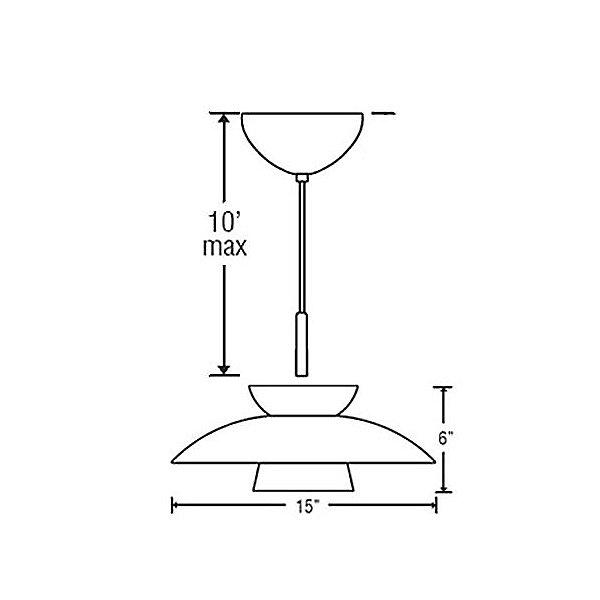 Trilo 15 Pendant Light