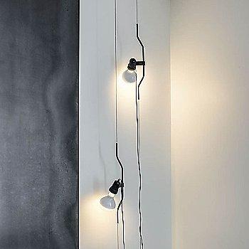 Nickel finish, illuminated