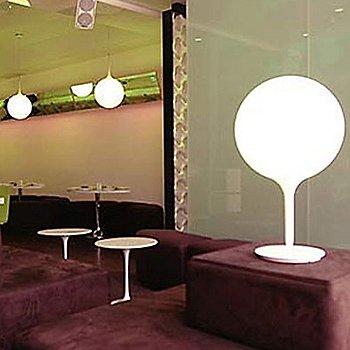 White finish / Large size, illuminated
