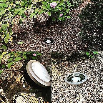 Flush 50-Watt Par 36 Well Light / in use