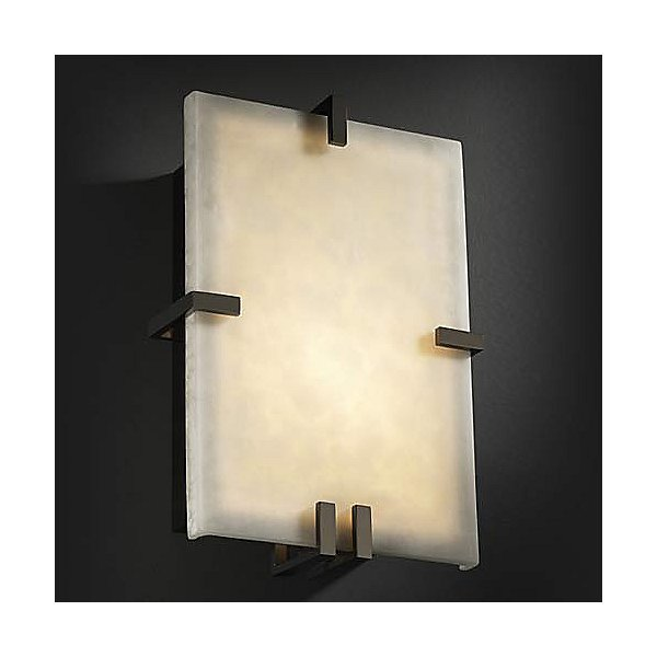 Clouds Clips Rectangle Wall Sconce