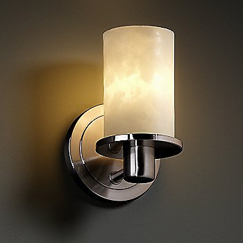 Brushed Nickel finish, in use