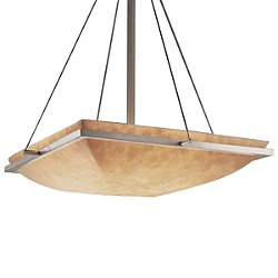 Clouds Square Bowl Suspension Light Small