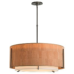 Exos Medium Double Shade Pendant Light