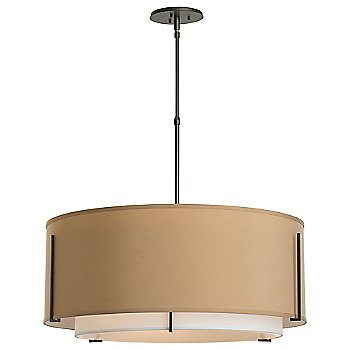 Shown in Doeskin Shade color with Burnished Steel finish, Standard Length