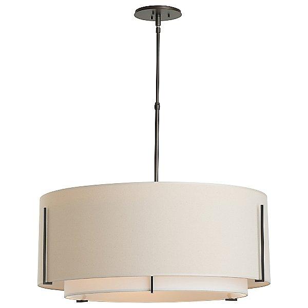 Exos Medium Double Shade Suspension Light