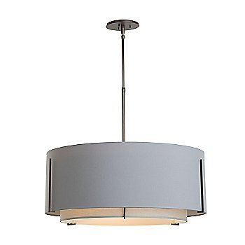 Shown in Medium Grey Shade color with Dark Smoke finish, Standard Length