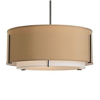 Shown in Doeskin Shade color, Burnished Steel finish