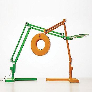 Orange / Green finish