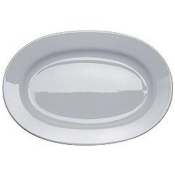 AJM28/22 - PlateBowlCup Oval Serving Plate