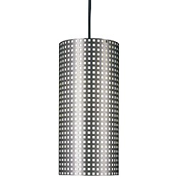 Grid Cylindrical Pendant Light