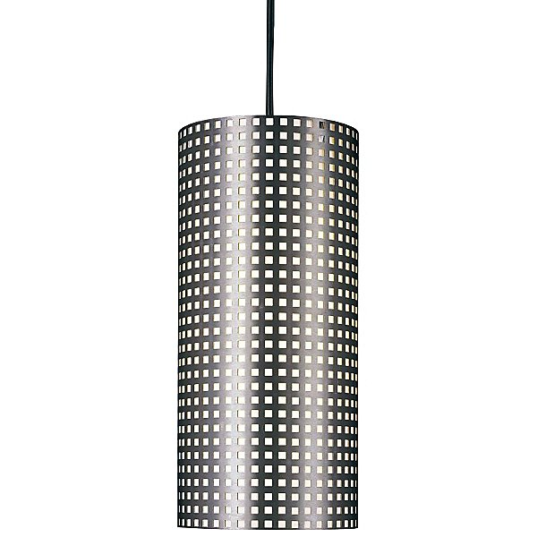 Grid Cylindrical Pendant Light