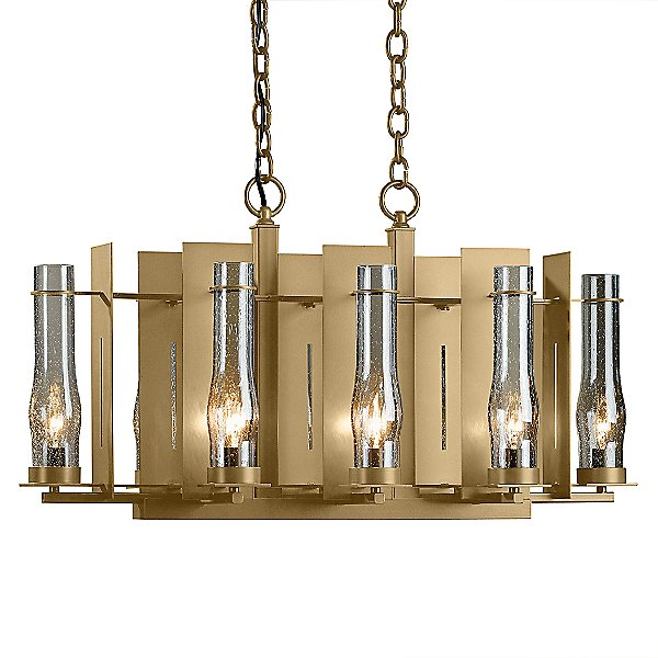 New Town 8-Light Linear Suspension