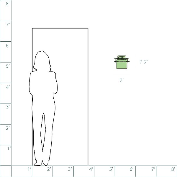 Arc Ellipse Wall Sconce - 207521
