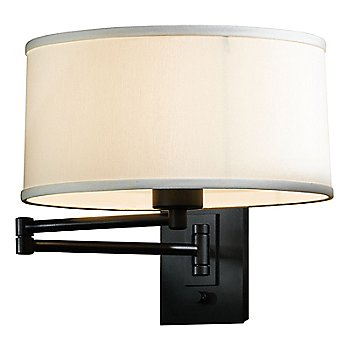 Shown in Natural Anna Shade color, Black finish
