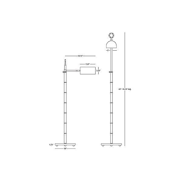 Meurice Task Floor Lamp
