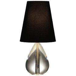 Claridge Mini Tear Drop Accent Lamp