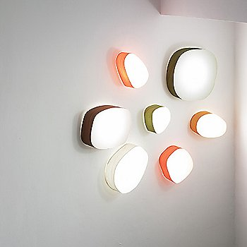 Guijarros 2 Wall Light by LZF collection